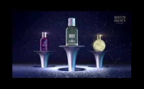Molton Brown Christmas 2018 Advent Animation