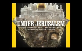 National Geographic / Front Cover Animation / Under Jerusalem