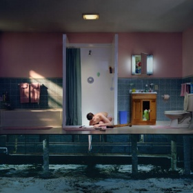 Boy with Drain by Gregory Crewdson