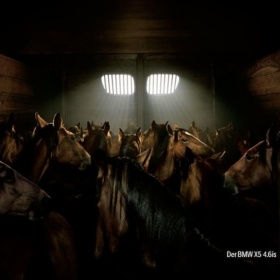 The BMW horses ad by JVM