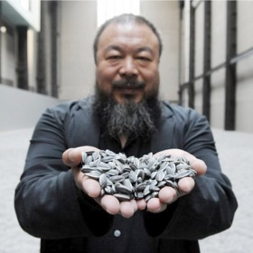 Ai Weiwei, who reminds me to give every creative expression a deeper meaning.