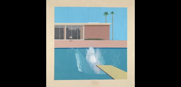 Hockney, A bigger Splash, 1967