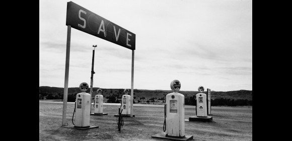 Robert Frank - Gas Station
