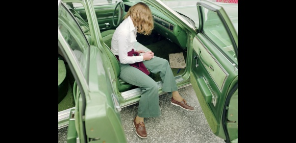 Stephen Shore. Ginger Shore, West Palm Beach, Florida, 14 November 1977