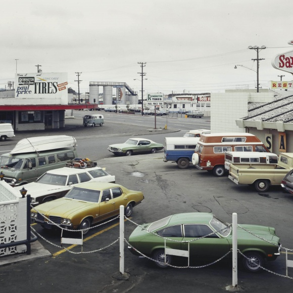 Stephen Shore - 5th Street and Broadway