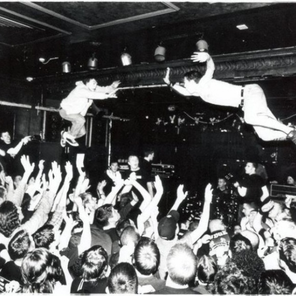 High Fives and Stage Dives