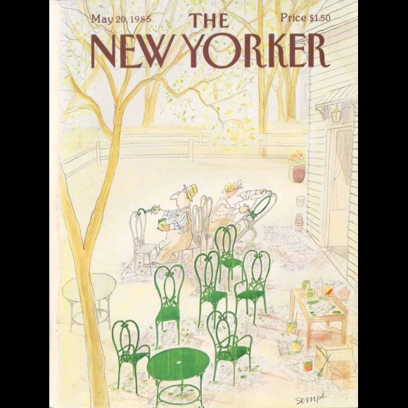 Sempé and The New Yorker