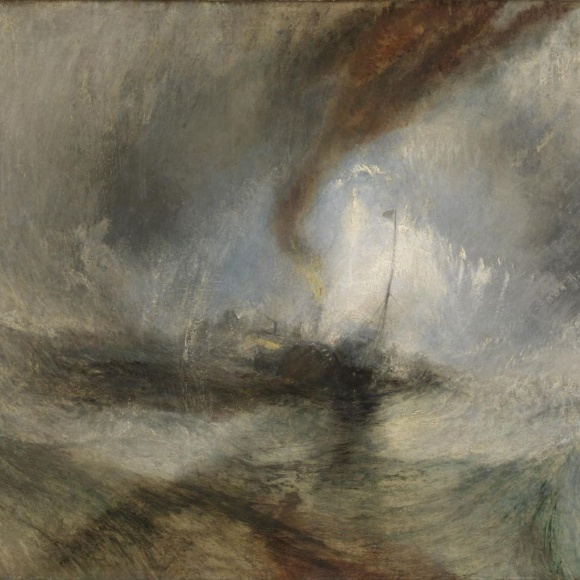 Turner - Snowstorm at Sea