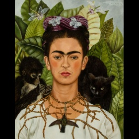 Frida Kahlo - Thorn Necklace and Hummingbird
