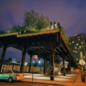 To make people as happy as they are on the highline in NYC
