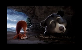 The Bear & The Squirrel