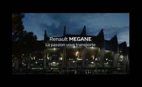 Renault MEGANE - Paris Saint-Germain - La passion vous transporte